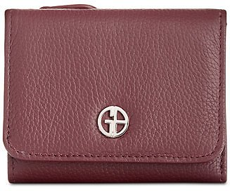 Giani Bernini Softy Leather Trifold Wallet, Created for Macy's & Reviews - Handbags & Accessories