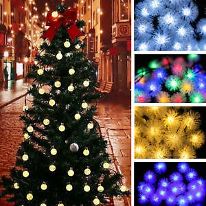 20LED Solar Fairy Lights String Christmas Party Light Party Lamp Outdoor R! R