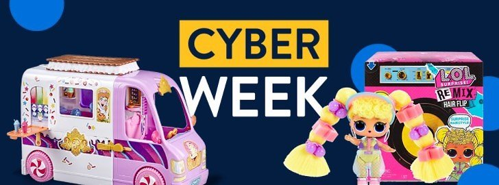 Cyber Week Deal: Save Up to 40% Off Toys, Dolls & Playsets