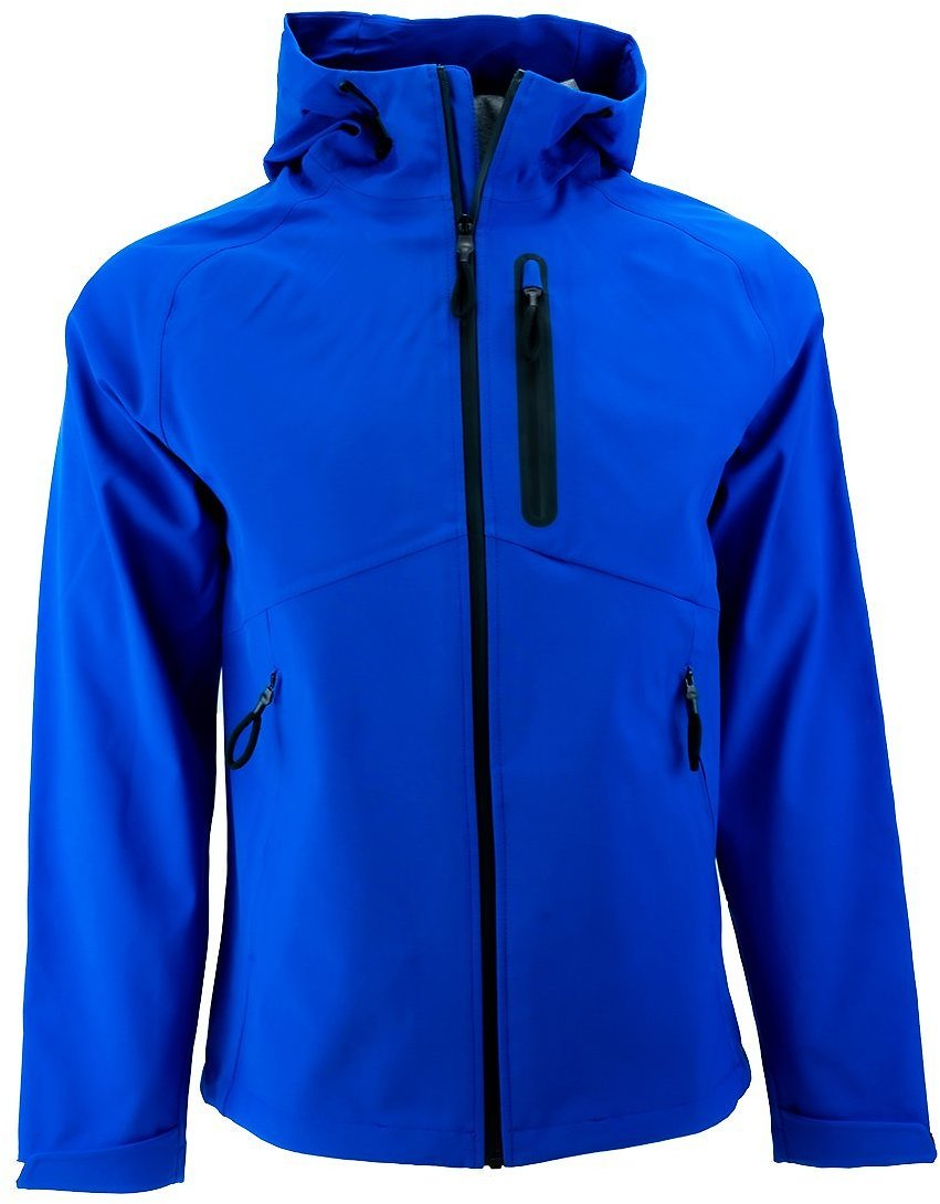 Body Glove Men's Soft Shell Seam Sealed Jacket With Hood