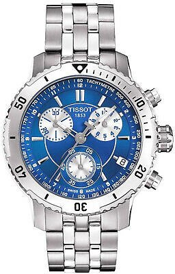NEW TISSOT MENS SWISS T-SPORT PRS 200 CHRONO WATCH - T0674171104100 - RRP £440