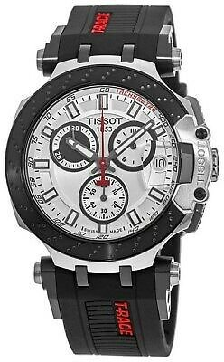 New Tissot T-Sport T-Race White Dial Black Men's Watch T115.417.27.011.00 7611608286821