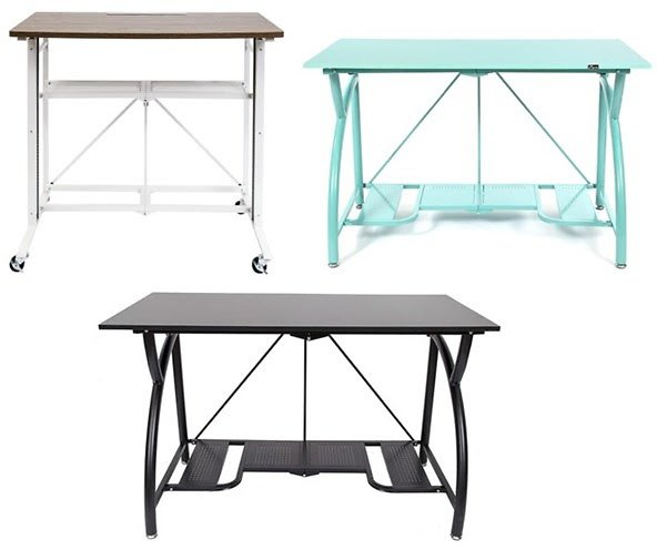 Origami Steel Frame Desk (Your Choice)