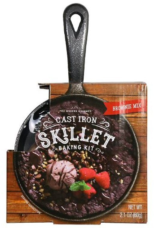 The Cast Iron Skillet Brownie Baking Gift Set