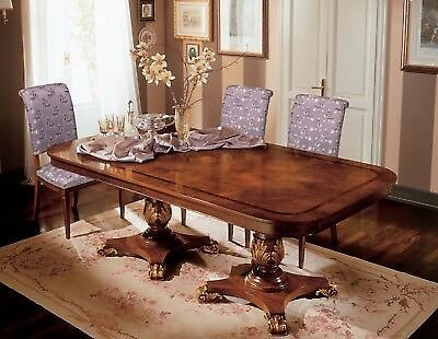 Brand NEW Exotic Italian Made Classic Dining Table with 8 Chairs