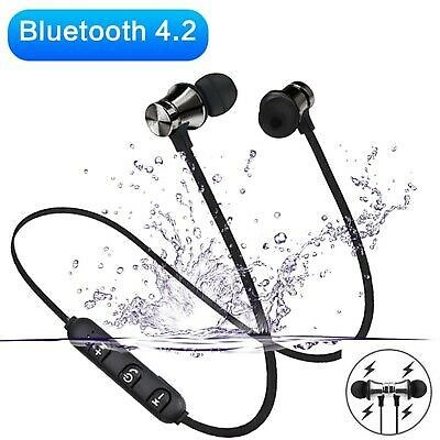 XT11 Neckband Wireless Headphones Sports Bluetooth In-Ear Earphone Waterproof