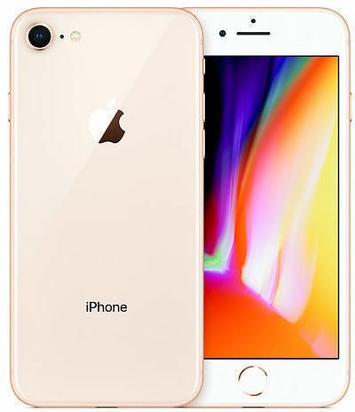 Apple IPhone 8 - 64GB - Gold (Unlocked) A1863 (CDMA + GSM) for Sale Online
