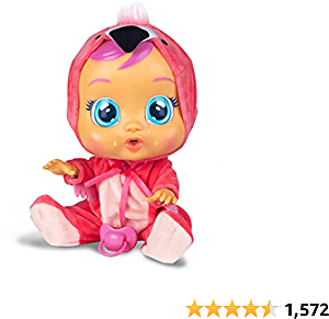 Cry Babies Fancy The Flamingo Doll