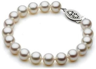 Diamond Princess Freshwater Cultured Pearl Bracelet