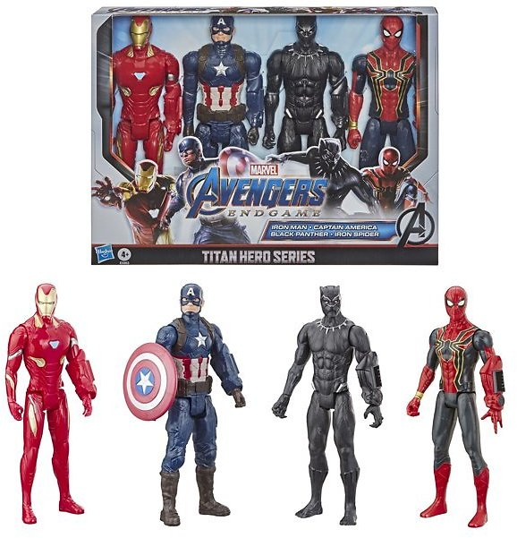 4-Pack Marvel Avengers: Endgame Titan Hero Series Action Figure