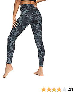 High Waisted Yoga Pants for Women Squat Proof Workout Running Compression Leggings with Pockets for Women
