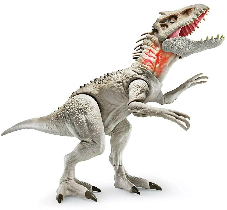 US $39.99 28% OFF Jurassic World Destroy 'n Devour Indominus Rex Dinosaur with Chomping Mouth, Slashing Arms, Lights & Realistic Sounds Electronic Pets  - AliExpress