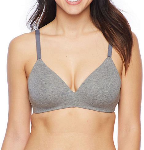 Ambrielle Natural Comfort Wireless T-Shirt Full Coverage Bra