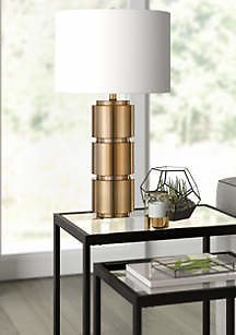 Hinkley & Carter Campbell Brass Finished Table Lamp