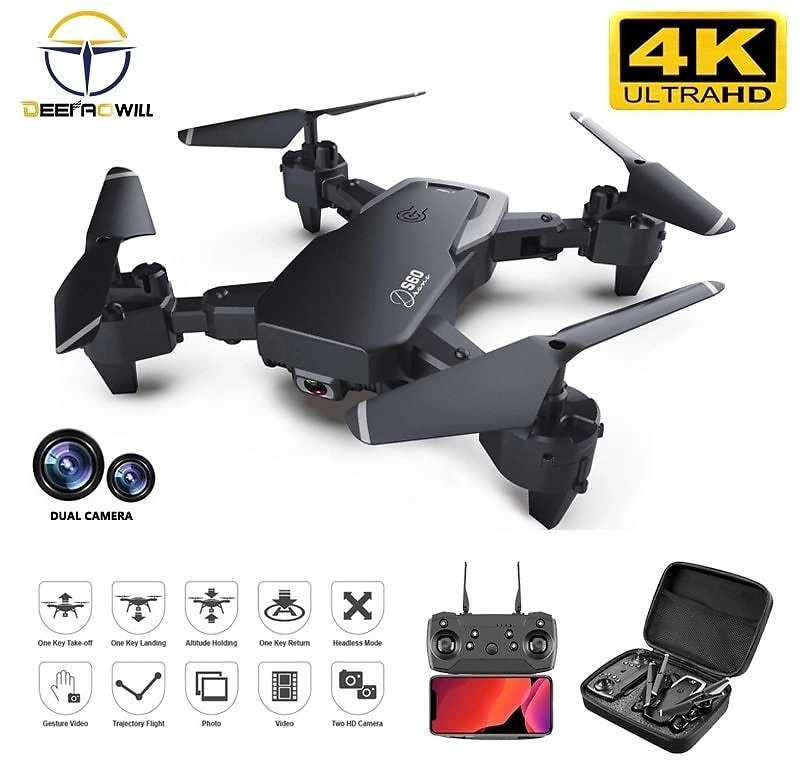 US $13.7 70% OFF|2020 NEW Rc Drone 4k HD Wide Angle Camera 1080P WiFi Fpv Drone Dual Camera Quadcopter Real Time Transmission Helicopter Toys|RC Helicopters| - AliExpress