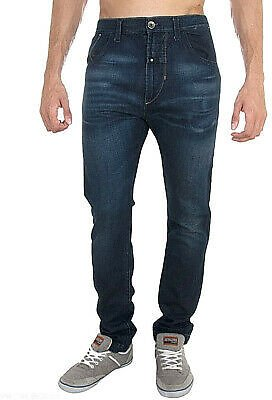 Men Trousers Straight Leg B948 Energy Blue Sizes 33
