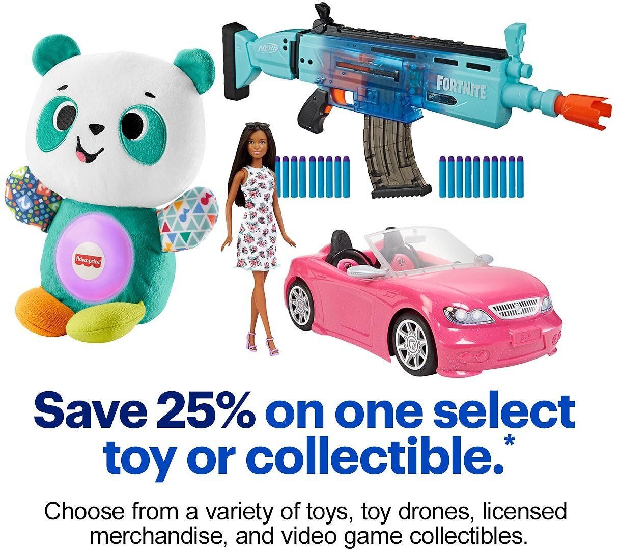 Save 25% On One Toy - Best Buy