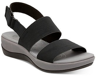 Clarks Collection Women's Arla Jacory Flat Sandals & Reviews - Sandals - Shoes