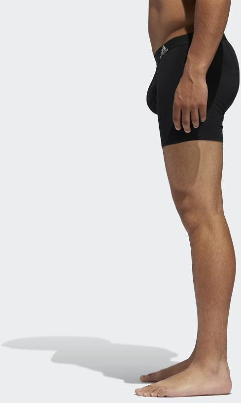 Adidas Stretched Boxer Briefs 3 Pairs - Black | Adidas US