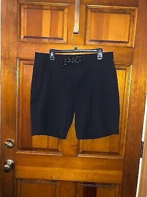 Women's GAP Black Button and Tie @ Waist Shorts Size Large