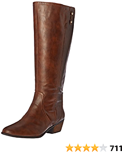 Dr. Scholl's Shoes Brilliance Womens Wide Calf Riding Boot