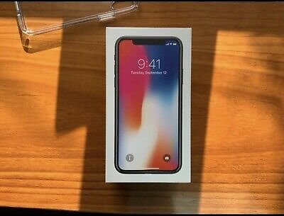 Apple IPhone X - 64gb-space Gray (Free)