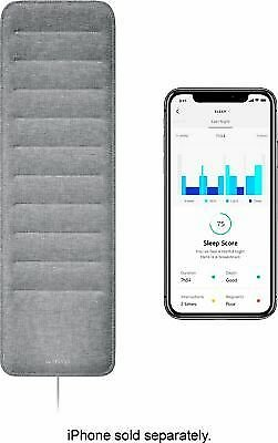 Withings - Sleep Tracking Mat + Heart Rate - Gray
