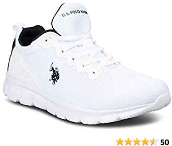 US Polo Assn Utilize Athletic Mesh Running Sneakers for Men