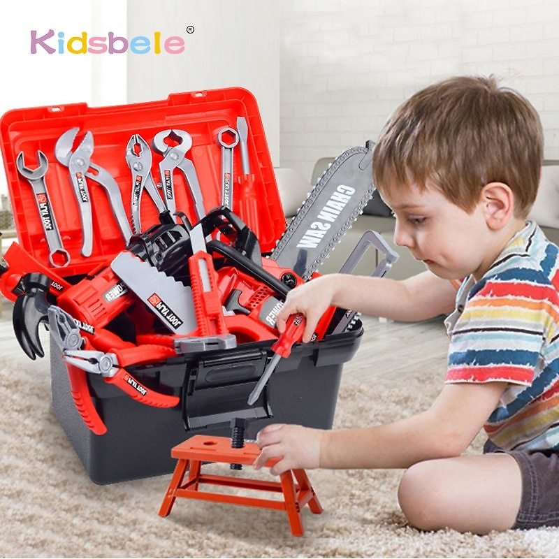 US $14.99 49% OFF|Kids Toolbox Kit Educational Toys Simulation Repair Tools Toys Drill Plastic Game Learning Engineering Puzzle Toys Gifts For Boy|Tool Toys| - AliExpress