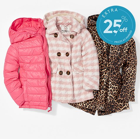 Up to 85% Off Kids The Coat Shop Flash Event w/ Extra 25%
