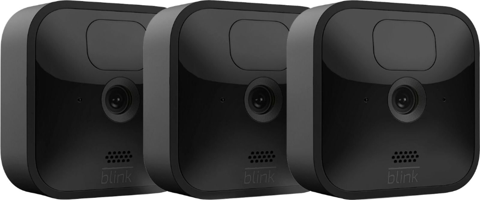 Blink Outdoor 3 Cam Kit– Wireless, Weather-resistant HD Security Camera with 2-year Battery Life and Motion Detection B086DKSHQ4