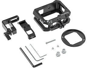 SmallRig Camera Cage for GoPro Hero 8 Black Quick Set Up Cage with Filter Ring