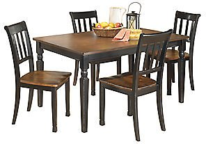 Owingsville Dining Table and 4 Chairs Set | Ashley Furniture HomeStore