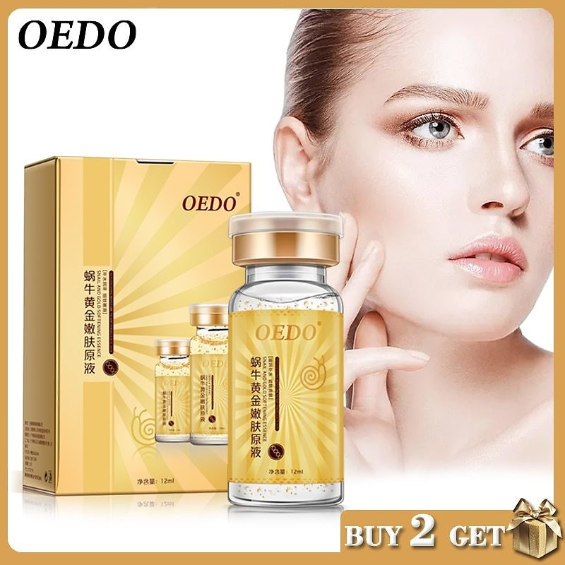 US $3.41 78% OFF Anti Aging Snail and Gold Essence Hydrating Hyaluronic Acid Moisturizers Treatment Face Care Cream Serum Snail Pure Extract snail Pure Extract snail Extractsnail Serum - AliExpress