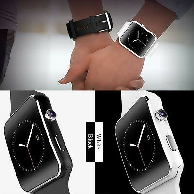 2020 NEW Waterproof X6 Smart Watch Bluetooth SIM Phone Camera For Android/iOS~~