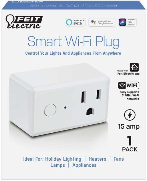 44% OFF | Feit Electric Commercial and Residential Plastic Smart Plug Boxed | Ace Hardware
