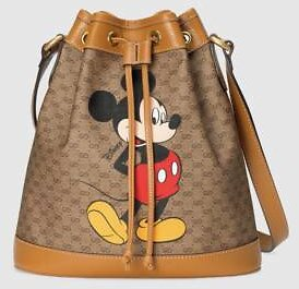 Gucci - Disney X Gucci Small Bucket Bag