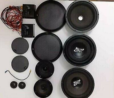 Canton Pullman RS 6 3-way Components Speakers Including 10