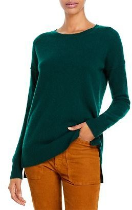 AQUA High Low Cashmere Sweater - 100% Exclusive Women - Bloomingdale's