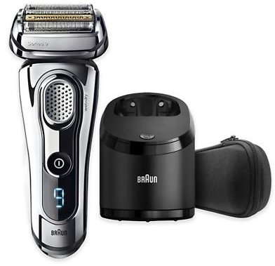 Braun Series 9 Wet & Dry Electric Shaver in Chrome | Bed Bath & Beyond
