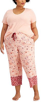 Charter Club Plus Size Pajama Separates, Created for Macy's & Reviews - Bras, Panties & Lingerie - Women