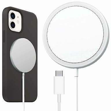 Magnetic 15W Wireless Charger Fast Charging Pad For IPhone 12 Pro Max/Mini/11