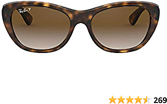 Ray-Ban Women's Rb4227 Square Sunglasses