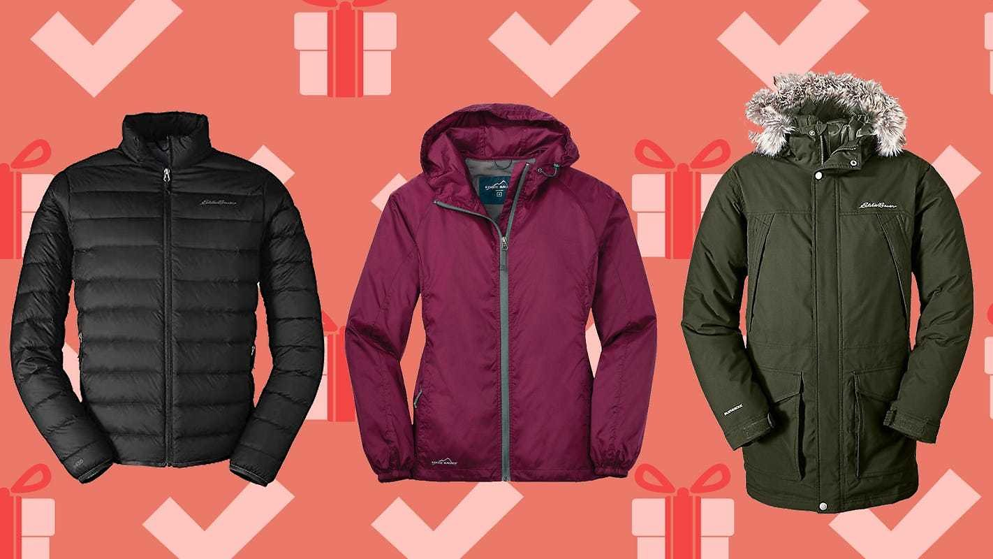 Eddie Bauer Is Helping You Bundle Up with Up to 60% Off Outerwear, Down Jackets and More