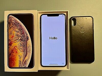 Apple IPhone XS Max - 64GB - Gold (Unlocked) - Excellent Condition