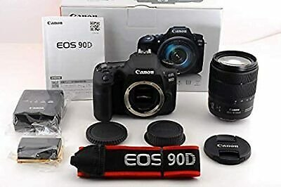 Canon EOS 90D DSLR Camera with 18-135mm Lens Kit Used From Japan
