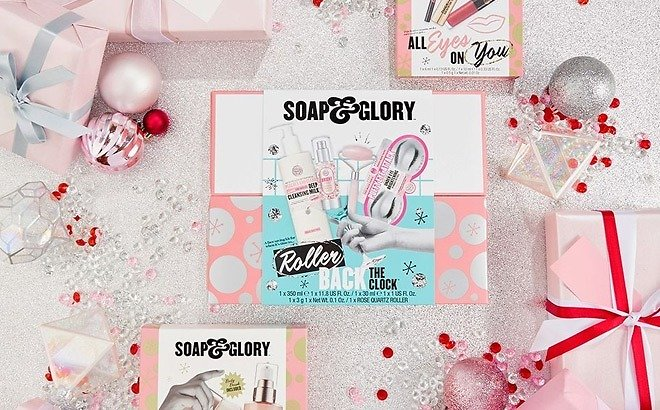 BOGO 50% OFF Soap & Glory Peepers and Pout Prep Gift Set