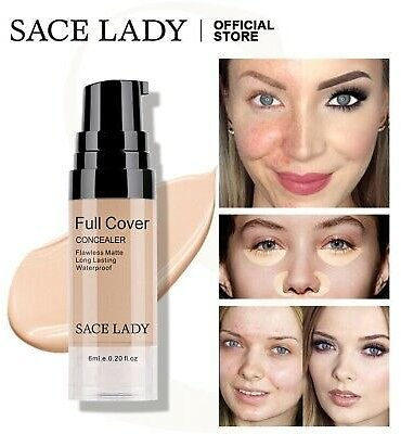 Full Coverage Liquid Concealer Makeup Eye Dark Circle Cream Face Corrector Base