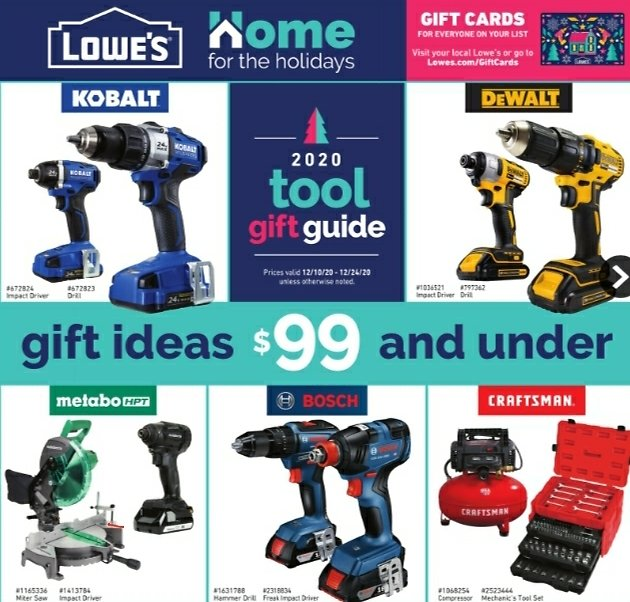 2020 Holiday Tool Gift Guide