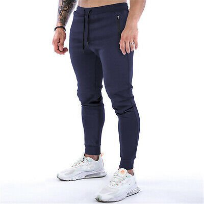 Mens Casual Pants Workout Joggers Training Outdoor Sport Trousers Sweatpants